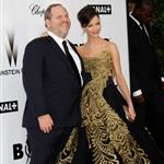 Harvey Weinstein and Georgina Chapman at amfAR gala 20717
