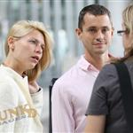 Claire Danes and Hugh Dancy arriving in Toronto 24402