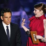 Emma Stone and Ben Stiller at the 84th Annual Academy Awards 107458