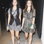 Emmy Rossum with twin friend leaving Troubadour 68076