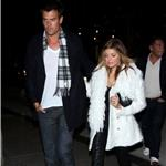 Fergie and Josh Duhamel after dinner in New York 74074
