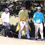 Mark Wahlberg and Will Ferrell play golf in Australia while promoting The Other Guys 67132