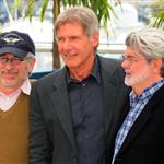 Harrison Ford at 2008 Cannes Film Festival promoting Indiana Jones 4 20609
