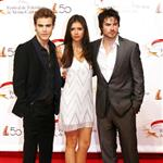 Nina Dobrev, Ian Somerhalder and Paul Wesley in Monte Carlo for tv festival 62707
