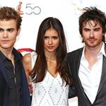 Nina Dobrev, Ian Somerhalder and Paul Wesley in Monte Carlo for tv festival 62708