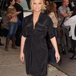 Jessica Simpson wears Herve Leger to Letterman 24679