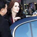Michelle Dockery visits The Late Show with David Letterman  105377