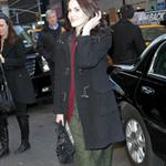 Michelle Dockery visits The Late Show with David Letterman  105379