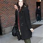 Michelle Dockery visits The Late Show with David Letterman  105382