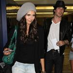 Nina Dobrev Ian Somerhalder fuel dating rumours by flying out after Teen Choice August 2010  66867