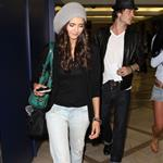 Nina Dobrev Ian Somerhalder fuel dating rumours by flying out after Teen Choice August 2010  66872