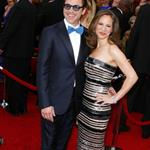 Robert Downey Jr. and his wife Susan at the Oscars 2010 56469