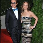 Robert Downey Jr. and his wife Susan at the Oscars 2010 56475