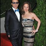 Robert Downey Jr. and his wife Susan at the Oscars 2010 56476