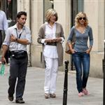 Rachel McAdams shooting Midnight in Paris  67046