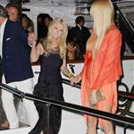 Tara Reid and Fawaz Gruosi attend a party aboard the Lady Joy yacht during the 65th Cannes Film Festival 115240