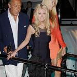 Tara Reid and Fawaz Gruosi attend a party aboard the Lady Joy yacht during the 65th Cannes Film Festival 115242