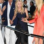 Tara Reid and Fawaz Gruosi attend a party aboard the Lady Joy yacht during the 65th Cannes Film Festival 115248