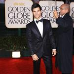 Taylor Lautner at the Golden Globes 2010 53595