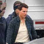 Tom Cruise on set of his latest movie in Pittsburgh  102692