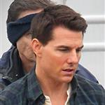 Tom Cruise on set of his latest movie in Pittsburgh  102693