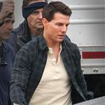 Tom Cruise on set of his latest movie in Pittsburgh  102694