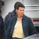 Tom Cruise on set of his latest movie in Pittsburgh  102697