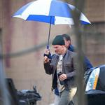 Tom Cruise on set of his latest movie in Pittsburgh  102700