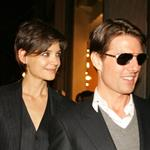 Tom Cruise and Katie Holmes dressed in suits together at Hermes store in NYC with Gayle King and Jessica Seinfeld 26369