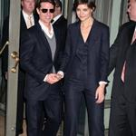 Tom Cruise and Katie Holmes dressed in suits together at Hermes store in NYC with Gayle King and Jessica Seinfeld 26371