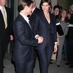 Tom Cruise and Katie Holmes dressed in suits together at Hermes store in NYC with Gayle King and Jessica Seinfeld 26372