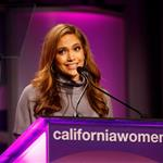 Jennifer Lopez Christiane Amanpour Michael J Fox at Women's Conference 26500