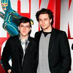 Aaron Johnson and Christopher Mintz-Plasse in Manchester for Kick-Ass 57655