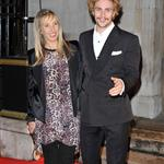 Aaron Johnson Sam Taylor-Wood blonde together at London Film Festival  97209