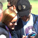Bradley Cooper on set with Abbie Cornish  58022