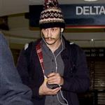 James Franco arrives at LAX 74124