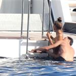 Adrien Brody and girlfriend Lara Lieto on a yacht in Saint Tropez  119811