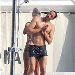 Adrien Brody and girlfriend Lara Lieto on a yacht in Saint Tropez  119819