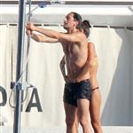Adrien Brody and girlfriend Lara Lieto on a yacht in Saint Tropez  119820