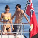 Adrien Brody and girlfriend Lara Lieto on a yacht in Saint Tropez  119849
