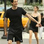 Adrien Brody in sweats walking around NYC August 2010  67400