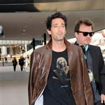 Adrien Brody arriving at the Armani yacht party in Cannes 61522
