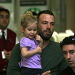 Ben Affleck and Jennifer Garner with daughter Violet at LAX happy and preparing for 2nd baby 28331