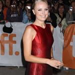 Malin Akerman at 'The Bang Bang Club' TIFF premiere.  Photos from Splash 68955