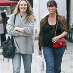 Alicia Silverstone and Alanis Morissette go for dinner  70709