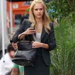 Very blonde Jessica Alba and Ashton Kutcher shoot Valentine's Day 45855