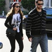 Jessica Alba and Cash Warren out and about yesterday 29805