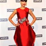 Jessica Alba sells out for Campari event in origami dress  28436