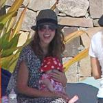 Jessica Alba shows off post baby body in bikini for NYE in Mexico with family  101542