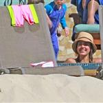 Jessica Alba shows off post baby body in bikini for NYE in Mexico with family  101545
